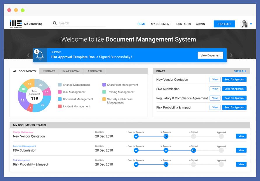 Document Management System App